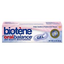 Biotene Oral Balance Dry Mouth Moisturizing Gel 1.5 Oz Formula