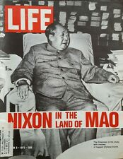 """Life Magazine """"Nixon in the Land of MAO"""" March 3, 1972"""