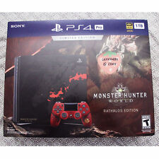 Monster Hunter World Rathalos edition PlayStation 4 Pro
