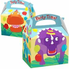 Dinosaur Favour Loot Party Box Childrens Birthday Party Decorations