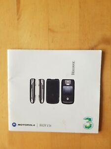 Motorola RAZR V3X Services User Guide