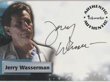 Jerry Wasserman Inkworks Smallville autograph auto card A45