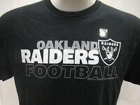 Oakland Raiders Men's M, XL Wordmark-Style Graphic T-Shirt NFL Black A14