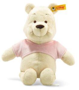 Steiff Disney 'Winnie the Pooh' - washable baby safe soft toy bear - 290077