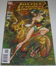 JUSTICE LEAGUE OF AMERICA #7 Michael Turner WONDER WOMAN VARIANT (DC 2007) (VF)