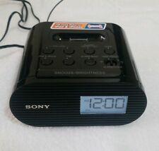 Sony ICF-C05IP 30 Pin iPhone iPod Clock Radio Alarm Speaker Dock MP3 Wake Up