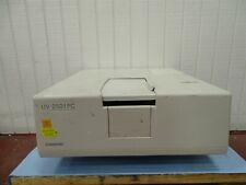 Shimadzu Uv 2501pc Uv Double Blazed Double Monochromator Spectrophotometer