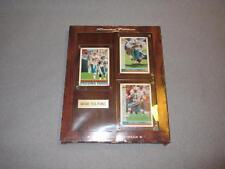 NFL Miami Dolphins Plaque Dan Marino Keith Jackson Mark Higgs Cards Framed Mint*