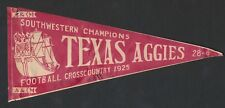 "1925 TEXAS A&M ""Southwestern Champions"" Football Pennant-Decal"