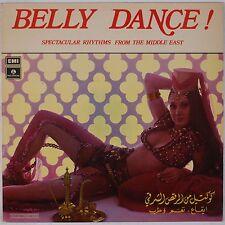 BELLY DANCE: Specatular Middle East Rhythms PARLOPHONE Import LP Labban Parkour