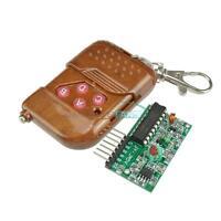 433/315MHZ IC2262/2272 4 Channel Wireless Remote Control Kits 4 Key Wireless M