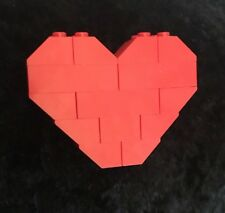 ❤️ LEGO Mothers Day Gift ❤️ Red Brick Love Heart Brooch/Badge ❤️ Birthday