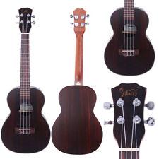 """Glarry UK503 26"""" Tenor Full Rosewood Matte Ukulele Wood Color"""