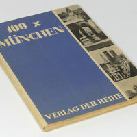 Munich in the 1930s Photo Book w/100 pictures Bavaria Germany Bayern Munchen