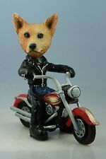 Australian Cattle Dog Red On A Motorcycle(See All Breeds Bodies @ Ebay Store