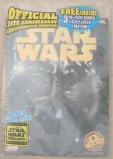 SEALED NEW 1997 20TH ANNIVERSARY STAR WARS MAGAZINE 3 HIGH TECH 3-D CARDS