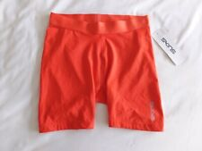 Skins - Ladies DNAmic Gym Shorts - BNWT - Size S - Coral Red