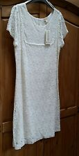 Lace Ivory Cream Monsoon Dress Size 14. Brand New. Ladies. Womans. Summer.