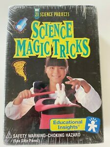Educational Insights Science Magic Tricks 1993 Sealed