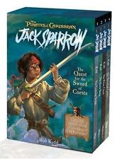 Pirates Caribbean, Jack Sparrow : QUEST for the SWORD of CORTES 4 Book Boxed Set