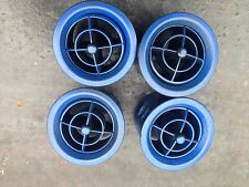 MAZDA MX5 MK1 EUNOS SET OF 4 DASHBOARD AIR VENTS IN BLUE