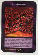 ILLUMINATI NEW WORLD ORDER CARD GAME TCG -SOULBURNER NEAR MINT TO MINT