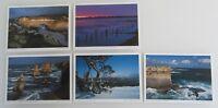 AUSTRALIEN Postkarten Lot 5 Ansichtskarten VICTORIA Postcards Australia color AK