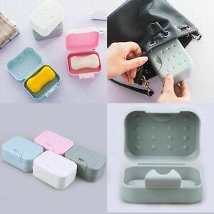 Bath Shower Travel Portable Soap Box Dish Case Plate Waterproof Sealed Holder