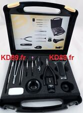 Bergeon 7812 Watchmakers Quick Service 18 Tools Case for the batteries SWISS