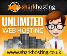* 50% OFF * Host 10 sites internet illimité site web d'hébergement Web 12 mois Tiger Shark