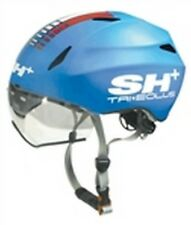 SH+ (ShPlus) Tri Eolus HF Triathlon Cycling Helmet (was $360) - Blue