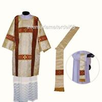 RITUAL MOVEMENT 1867 REVEREND HIGH CHURCH CLERGYMAN ORDERS SET OF VESTMENTS
