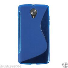 Cover e custodie Blu Per Vodafone Smart in silicone/gel/gomma per cellulari e palmari