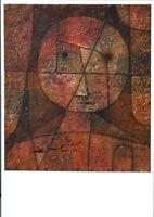 Physiognomische Kristallisation Bauhaus Kunstpostkarte Paul Klee