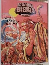 MOSE E LA TERRA PROMESSA La Sacra Bibbia a fumetti Il Giornalino 3 1997 libro di