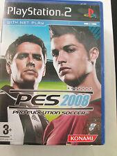 Pes 2008 pro evolution soccer OVP + cuaderno para ps2