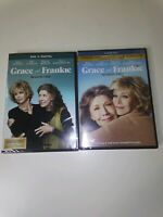 GRACE AND FRANKIE TV SERIES COMPLETE SEASONS ONE + TWO New Sealed DVD 1 2