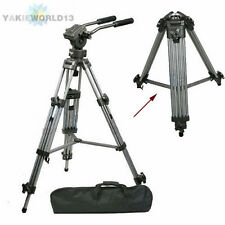 PRO Heavy Duty Tripod Fluid Video Pan Head for DSLR Canon Nikon Camera Camcorder