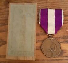 More details for 1920 japan wooden boxed full size japanese national census commemorative medal
