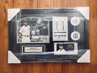 "Derek Jeter Signed Autograph ""2014 Final Opening Day"" Baseball Photo"