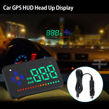 "3.5"" GPS HUD Digital Head Up Display Car Trucks Speedometer Speed Warning"