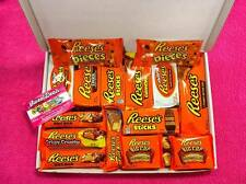 Reeses Medium Hamper Gift Box - Birthday Xmas American Retro USA Candy Sweets