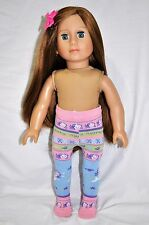 American Girl Doll Our Generation Journey 18 Dolls Clothes Doll Tights Mermaid