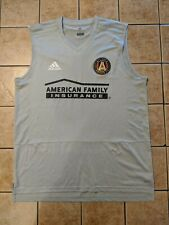 Atlanta United Team Issue Adidas Condivo 18 Training Jersey sz L