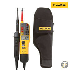 Genuine Fluke T130 Voltage & Continuity Tester+H15 Holster Custodia 2019 Edition