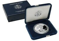 2002 W Proof 1oz Silver American Eagle
