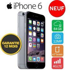 Neuf Apple iPhone 6 64GO 64GB Unlocked DÉBLOQUÉ Téléphones GREY Gris Sidéral  FR