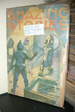 AMAZING STORIES PULP MAGAZINE  MARCH, OCTOBER & DECEMBER 1934 [ 3 ISSUES ]