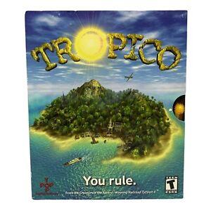 New Sealed In Box Tropico 2001 Big Box PC Game