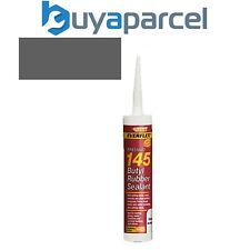 Everbuild 145 Butyl Rubber Sealant Grey C3 Size Cartridge